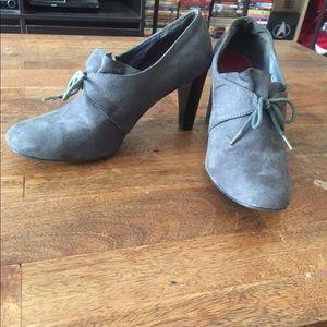 Adorable Ann Marino Shoes! Gray Suede! 💙